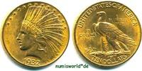 10 Dollars 1932 USA USA - 10 Dollars - 1932 vz+  805,00 EUR  Excl. 17,00 EUR Verzending