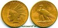 10 Dollars 1910 USA USA - 10 Dollars - 1910 ss  /  vz  789,00 EUR  + 17,00 EUR frais d'envoi