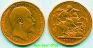 Australien 1 Sovereign 1903 ss+ Australien - 1 Sovereign - 1903 16403 руб