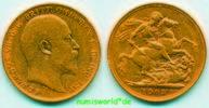 1 Sovereign 1903 Australien Australien - 1 Sovereign - 1903 ss+  414,00 EUR  +  17,00 EUR shipping