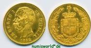 20 Lire 1882 Italien Italien - 20 Lire - 1882 vz+  286,00 EUR  Excl. 17,00 EUR Verzending