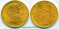 20 Francs 1875 Belgien Belgien - 20 Francs - 1875 vz+  322,00 EUR  Excl. 17,00 EUR Verzending
