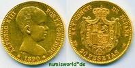 20 Pesetas 1890 Spanien Spanien - 20 Pesetas - 1890 vz  358,00 EUR  zzgl. 6,00 EUR Versand