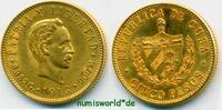 5 Pesos 1916 Cuba Cuba - 5 Pesos - 1916 vz/Stg  490,00 EUR  Excl. 17,00 EUR Verzending
