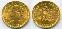 20 Pesos 1976 Chile Chile - 20 Pesos - 1976 Stg  188.01 US$ 171,00 EUR  +  35.18 US$ shipping