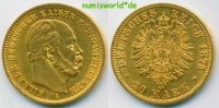 20 Mark 1875 vz Preussen - 20 Mark - 1875 465,00 EUR