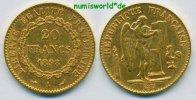 20 Francs 1898 Frankreich Frankreich - 20 Francs - 1898 ss+  310,00 EUR  zzgl. 6,00 EUR Versand