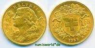 20 Franken 1922 Schweiz Schweiz - 20 Franken - 1922 f. Stg  19166 руб 259,00 EUR  +  2368 руб shipping