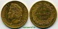 40 Francs 1834 Frankreich Frankreich - 40 Francs - 1834 ss  /  vz  721,00 EUR