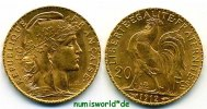 Frankreich 20 Francs 1912 vz+ Frankreich - 20 Francs - 1912 295,00 EUR 