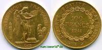 100 Francs 1911 Frankreich Frankreich - 100 Francs - 1911 vz  1678,00 EUR  + 17,00 EUR frais d'envoi