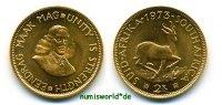 2 Rand 1973 Südafrika Südafrika - 2 Rand - 1973 Prachtexemplar!  407,00 EUR  + 17,00 EUR frais d'envoi