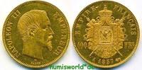 100 Francs 1857 Frankreich Frankreich - 100 Francs - 1857 vz+  1572,00 EUR  +  17,00 EUR shipping