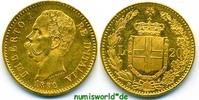 20 Lira 1882 Italien Italien - 20 Lira - 1882 vz+  285,00 EUR  zzgl. 6,00 EUR Versand
