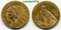 5 Dollars 1909 USA USA - 5 Dollars - 1909 vz  466,00 EUR  + 17,00 EUR frais d'envoi