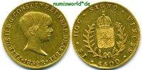 6400 Reis 1832 Brasilien Brasilien - 6400 Reis - 1832 f. vz  1784,00 EUR  + 17,00 EUR frais d'envoi