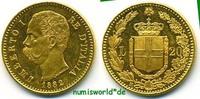 20 Lire 1882 Italien Italien - 20 Lire - 1882 f. Stg  339,00 EUR  zzgl. 6,00 EUR Versand