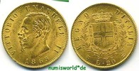 20 Lire 1865 Italien Italien - 20 Lire - 1865 vz  290,00 EUR  Excl. 17,00 EUR Verzending