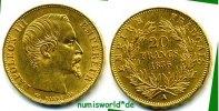 20 Francs 1856 Frankreich Frankreich - 20 Francs - 1856 vz  314,00 EUR  zzgl. 6,00 EUR Versand