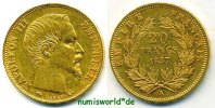 20 Francs 1857 Frankreich Frankreich - 20 Francs - 1857 vz  329.07 US$ 294,00 EUR  +  35.82 US$ shipping