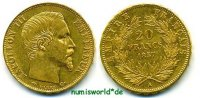 20 Francs 1857 Frankreich Frankreich - 20 Francs - 1857 vz  316,00 EUR  + 17,00 EUR frais d'envoi