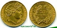 Frankreich 20 Francs 1851 vz/vz+ Frankreich - 20 Francs - 1851 379,00 EUR 