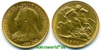 1/2 Sovereign 1901 Großbritannien Großbritannien - 1/2 Sovereign - 1901... 240.06 US$ 214,00 EUR  +  35.90 US$ shipping