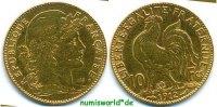 10 Francs 1912 Frankreich Frankreich - 10 Francs - 1912 ss  /  vz  155,00 EUR  + 17,00 EUR frais d'envoi