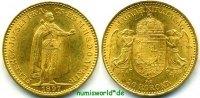 20 Korona 1897 Ungarn Ungarn - 20 Korona - 1897 vz/Stg  320,00 EUR  +  17,00 EUR shipping