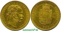 8 Forint 1880 Ungarn Ungarn - 8 Forint - 1880 vz  /  vz+  361,00 EUR  +  17,00 EUR shipping
