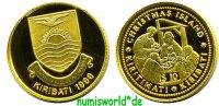 10 Dollars 1998 Kiribati Kiribati - 10 Dollars - 1998 PP  64,00 EUR  + 17,00 EUR frais d'envoi