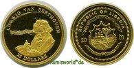 25 Dollars 2001 Liberia Liberia - 25 Dollars - 2001 PP  56,00 EUR  zzgl. 6,00 EUR Versand