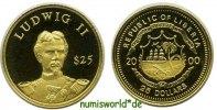 25 Dollars 2000 Liberia Liberia - 25 Dollars - 2000 PP  56,00 EUR  + 17,00 EUR frais d'envoi