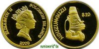 Solomon-Islands/Salomonen 10 Dollars 2000 PP Solomon-Islands/Salomonen -... 97.22 US$