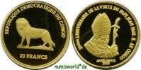 20 Francs 2000 Kongo Kongo - 20 Francs - 2000 PP  72,00 EUR  zzgl. 6,00 EUR Versand