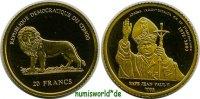 20 Francs 2003 Kongo Kongo - 20 Francs - 2003 PP  62,00 EUR  zzgl. 6,00 EUR Versand