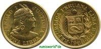 1 Libra 1968 Peru Peru - 1 Libra - 1968 Stg  384,00 EUR  zzgl. 6,00 EUR Versand