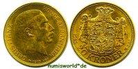 20 Kroner 1915 Dänemark Dänemark - 20 Kroner - 1915 vz+  419,00 EUR  +  17,00 EUR shipping