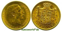 20 Kroner 1915 Dänemark Dänemark - 20 Kroner - 1915 vz+  419,00 EUR  zzgl. 6,00 EUR Versand