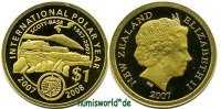Neuseeland - New Zealand 1 NZ Dollar 2007 PP Neuseeland - New Zealand - ... 105,00 EUR