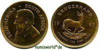 Krügerrand 1967 Südafrika Südafrika - Krügerrand - 1967 Stg  1754.32 US$ 1591,00 EUR  +  35.28 US$ shipping