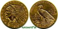 2 1/2 Dollars 1915 USA USA - 2 1/2 Dollars - 1915 vz  308,00 EUR  zzgl. 6,00 EUR Versand
