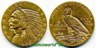 5 Dollars 1909 USA USA - 5 Dollars - 1909 vz  526,00 EUR  Excl. 17,00 EUR Verzending