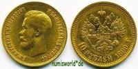 10 Rubel 1899 Russland Russland - 10 Rubel - 1899 vz  521,00 EUR  Excl. 17,00 EUR Verzending