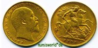 1/2 Sovereign 1909 Großbritannien Großbritannien - 1/2 Sovereign - 1909... 215.09 US$ 188,00 EUR  +  36.61 US$ shipping