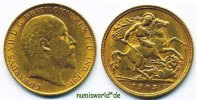 1/2 Sovereign 1905 Großbritannien Großbritannien - 1/2 Sovereign - 1905... 206.92 US$ 182,00 EUR