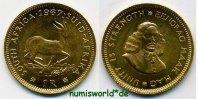 1 Rand 1967 Südafrika Südafrika - 1 Rand - 1967 Stg  161,00 EUR  Excl. 17,00 EUR Verzending