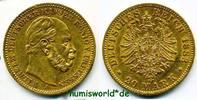 20 Mark 1883  Preussen - 20 Mark - 1883 vz  352,00 EUR  + 17,00 EUR frais d'envoi