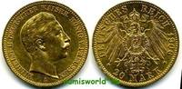 20 Mark 1906  Preussen - 20 Mark - 1906 ss  /  vz  310,00 EUR  +  17,00 EUR shipping