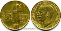 100 Lire 1923 Italien Italien - 100 Lire - 1923 vz  2028,00 EUR kostenloser Versand